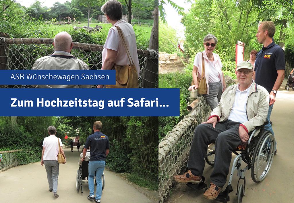 Wunschfahrt des Wünschewagen Sachsen